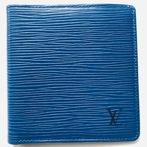 GENUINE LOUIS VUITTON Epi Six Cartes Wallet